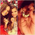 No Instagram, é possível ver várias fotos de Bruna Marquezine com a irmã, Luana