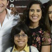 Camilla Camargo vibra ao ver ator de 'Carinha de Anjo' no 'The Voice Kids'. Veja