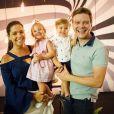 Thais Fersoza tem se dedicado integralmente ao papel de mãe