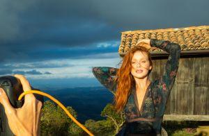 'Sensualidade vem de dentro', diz Marina Ruy Barbosa em 1º ensaio de lingerie