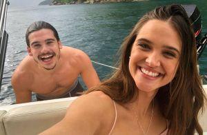 Juliana Paiva e Nicolas Prattes curtem viagem de férias por Noronha: 'Paraíso'