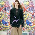 Semana de Moda de Paris - Maison Margiela: renda e amarrações