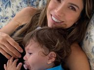 Grávida, Patricia Abravanel ganha carinho da filha, Jane, na barriga:'Caçulinha'