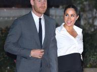 Com look P&B moderno, Meghan Markle elogia Príncipe Harry: 'Será o melhor pai'