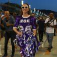 Sabrina Sato dança e samba muito em ensaio da Vila Isabel, no Rio de Janeiro