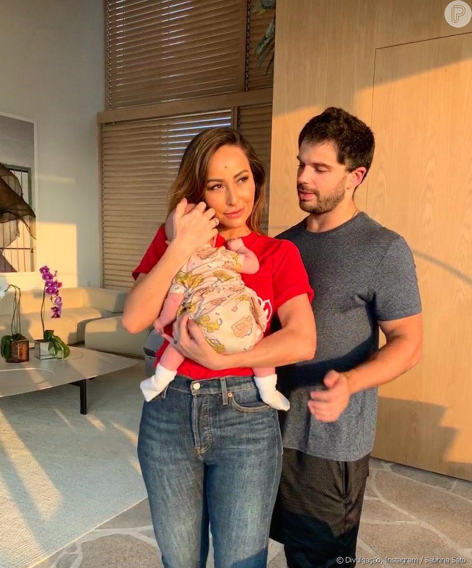 Mãe de Zoe, Sabrina Sato afasta pique pra namorar com Duda Nagle: 'Ele, fofo, entende'
