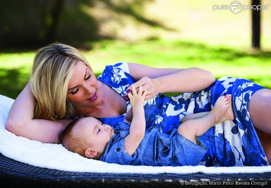 2cfdf7747d7af Ana Hickmann perdeu 30Kg seis meses após dar à luz seu filho   Sem ...