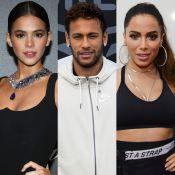Bruna Marquezine e Anitta romperam relação por causa de Neymar, diz colunista