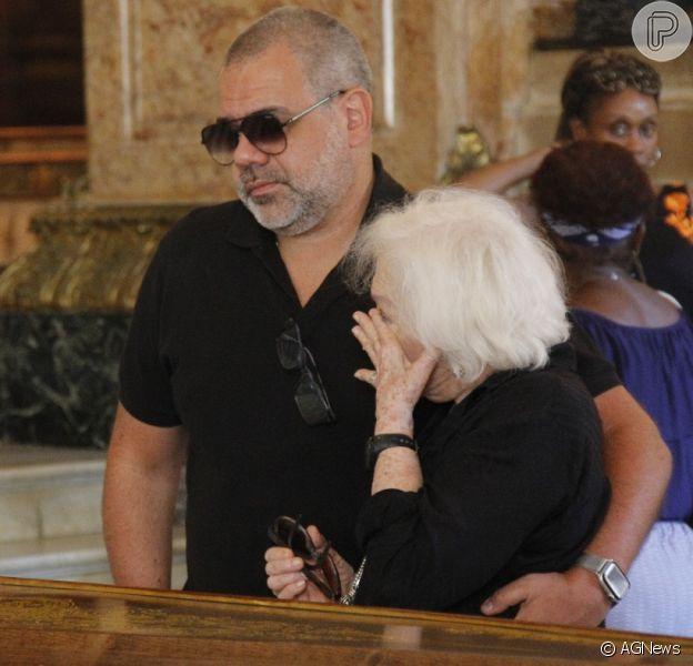 Famosos se despedem de Bibi Ferreira em velório no Theatro Municipal do Rio de Janeiro, na manhã desta quinta-feira, 14 de fevereiro de 2019