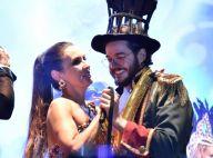 Rainha de baile, Fátima Bernardes dança forró com namorado, Túlio Gadêlha