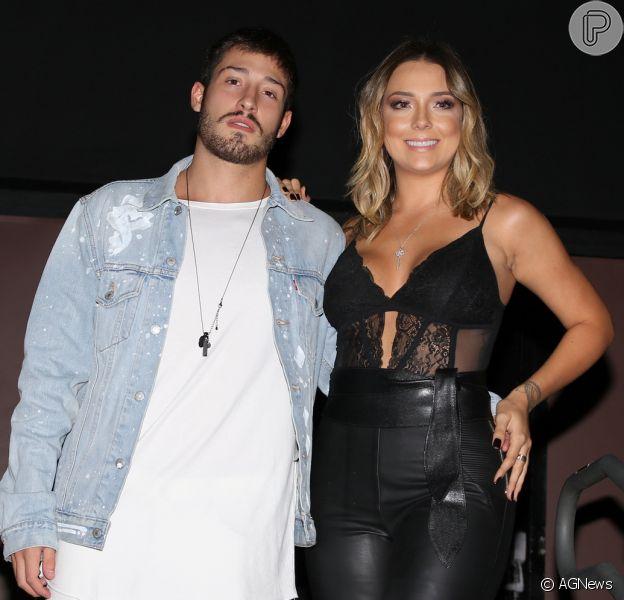 Carol Dantas está grávida de Vinícius Martinez