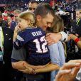 Gisele Bündchen e Tom Brady tiveram a sua segunda filha, Vivian, no dia 5 de dezembro de 2012