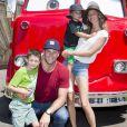 Gisele Bündchen e Tom Brady tiveram o primeiro filho, Benjamin, no dia 8 de dezembro de 2009