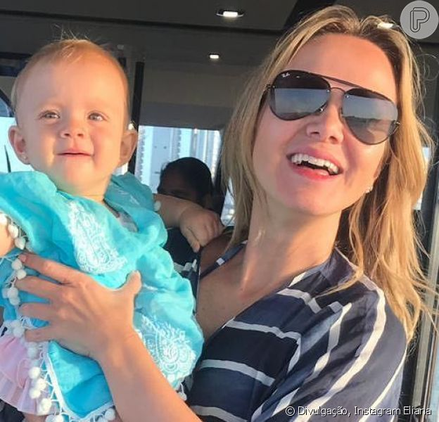 Manuela, filha de Eliana e Adriano Ricco, esbanja fofura nas redes sociais da mãe