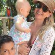 Eliana gosta de curtir passeios ao ar livre com os filhos, Arthur e Manuela