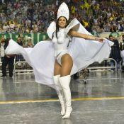Musa galáctica! Lívia Andrade vira Princesa Leia na Império de Casa Verde. Fotos