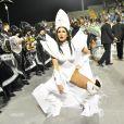 Lívia Andrade é madrinha da bateria da Império de Casa Verde