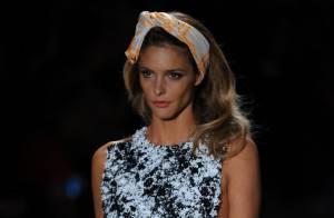 Fernanda Lima usará vestido banhado a ouro em desfile do World Fashion Week