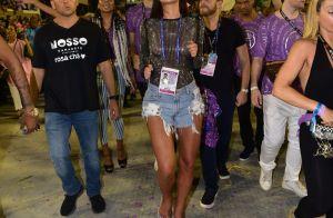 Marquezine mostra samba no pé e segue Mangueira na Avenida no carnaval do Rio