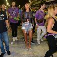 Bruna Marquezine seguiu a Mangueira na Avenida no carnaval do Rio de Janeiro neste sábado, 9 de março de 2019