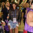 Bruna Marquezine chamou atenção na Avenida no carnaval do Rio de Janeiro neste sábado, 9 de março de 2019