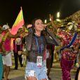 Bruna Marquezine prestigiou a Mangueira na Avenida no carnaval do Rio de Janeiro neste sábado, 9 de março de 2019