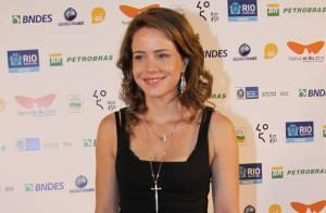 Leandra Leal e Marco Pigossi prestigiam exibição de filme no Festival do Rio