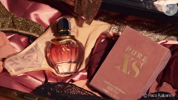 Com ingredientes florais e aquecidos, o perfume Pure XS for Her, de Paco Rabanne, vai deixar o seu look ainda mais sensual