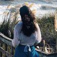 Débora Nascimento viajou para o Uruguai com a filha, Bella, e uma amiga, no carnaval