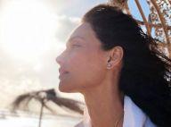 Débora Nascimento lembra foto sem blusa grávida e famosas elogiam: 'Maravilhosa'