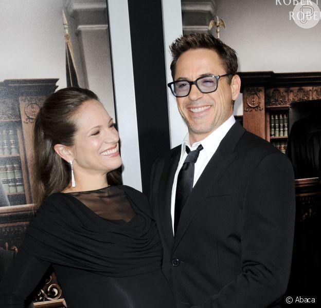 Robert Downey Jr. e Susan Downey prestigiam premiére do filme 'O Juiz', protagonizado pelo ator, em 2 de outubro de 2014