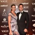 Baile da Vogue: Tons de lilás e muita franja, uma forma de sair do óbvio do dourado que a maioria das famosas apostaram