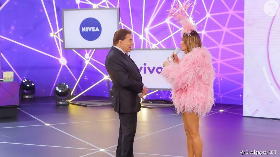 Silvio Santos alfinetou Claudia Leitte após a polêmica no 'Teleton': 'Enche o saco!'