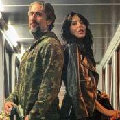 Aerolook! Marcos Mion usa moletom camuflado em viagem com mulher: 'Estilo'