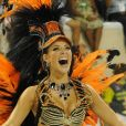 Paolla Oliveira reassume posto de rainha da Grande Rio: 'Eu aceito... Muito feliz e muito animada. Que venha Carnaval 2020! Obrigada pelo carinho de todos'