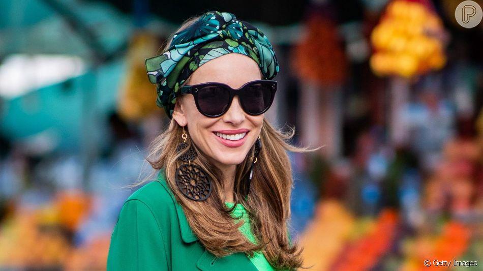 Confira como incluir tons de verde no seu look de um jeito muito estiloso
