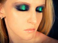 Maquiagem metalizada e bold eyes são apostas de expert para o Lollapalooza