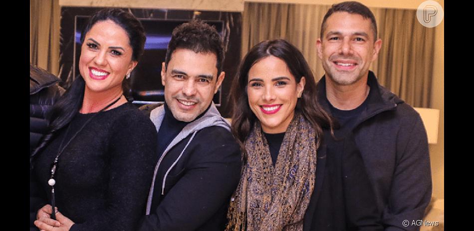 Wanessa falou sobre a relação com Graciele Lacerda, mulher de Zezé Di Camargo, em entrevista