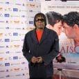 Milton Nascimento foi assistir à exibição do filme do Festival do Rio