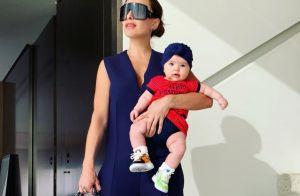 Fashion baby! Filha de Sabrina Sato, Zoe usa tênis customizado de R$ 700. Saiba!