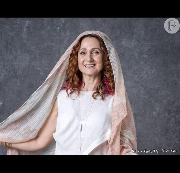 Na novela 'O Sétimo Guardião', Milu (Zezé Polessa) vai voltar para Serro Azul depois de morta para assombrar Mirtes (Elizabeth Savala).