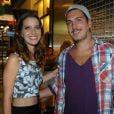 Caio Sóh já havia sido visto sozinho se divertindo na noite do Rio de Janeiro