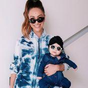 Mãe e bebê fashionistas! Zoe curte looks escolhidos por Sabrina Sato: 'Adora'