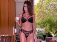 Adriana Sant'Anna deixa curvas à mostra em ensaio fotográfico de lingerie. Veja!