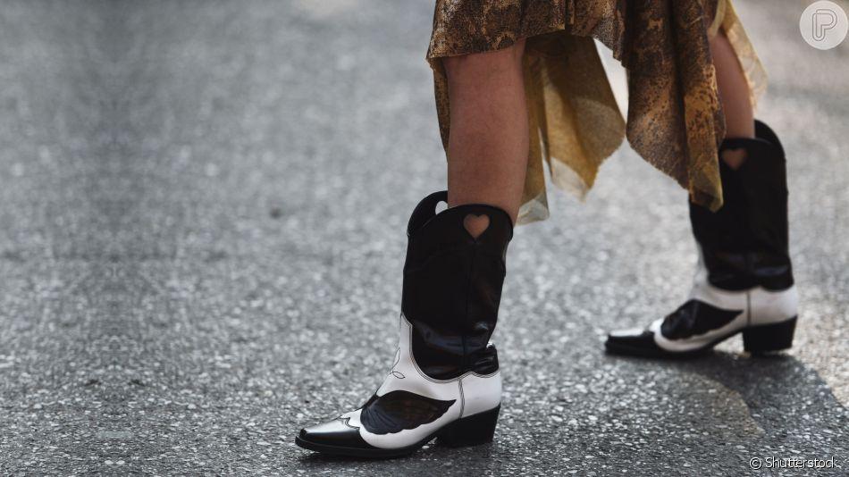 Moda inverno: looks com bota e saia ou vestido são os queridinhos da estação