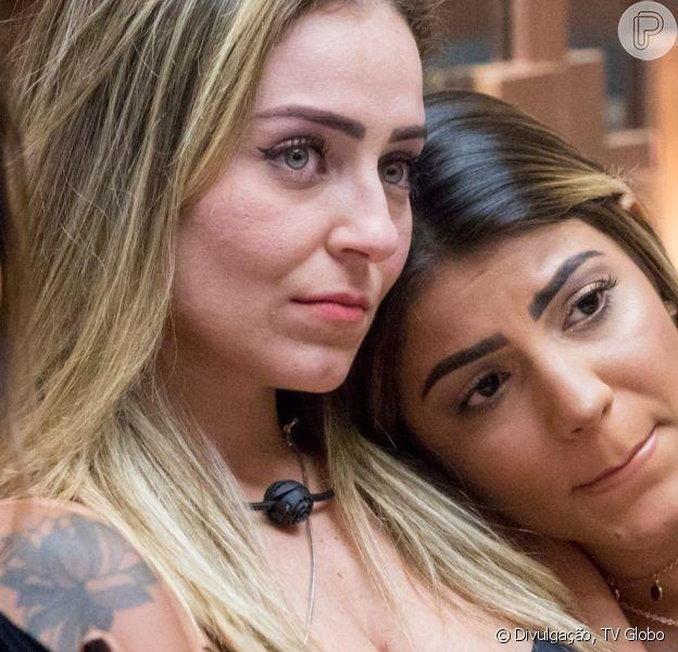 Hariany é expulsa do 'BBB 19' após discussão com Paula na madrugada desta quinta-feira (11)