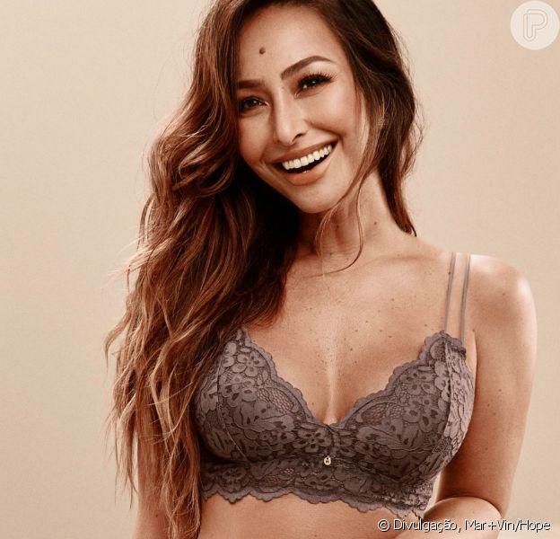 Sabrina Sato avalia corpo após Zoe em fotos de lingerie divulgadas nesta quarta-feira, dia 17 de abril de 2019