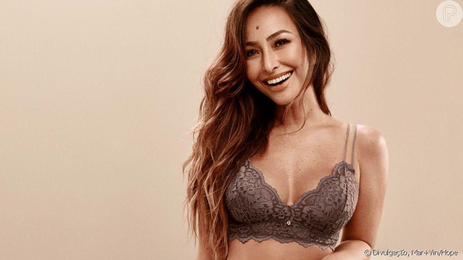 18c2399959234 Sabrina Sato avalia corpo após Zoe em fotos de lingerie divulgadas nesta  quarta-feira