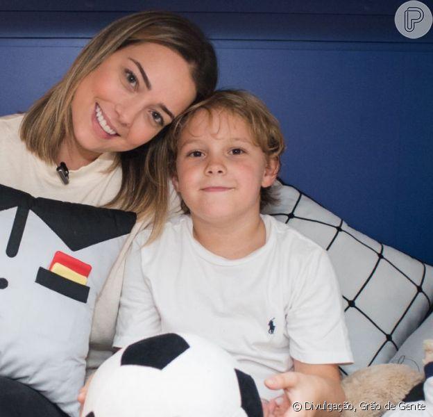 Carol Dantas se posiciona após questionamento sobre babá de Davi Lucca em foto postada nesta quinta-feira, dia 18 de abril de 2019