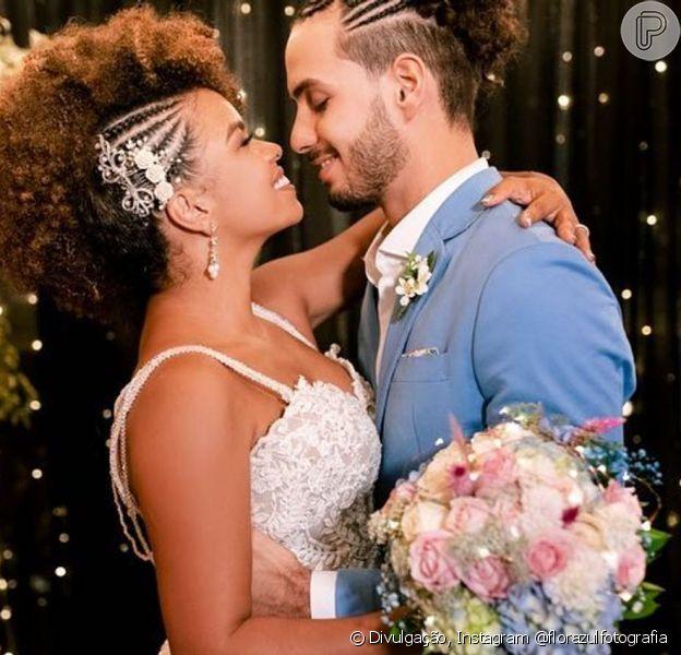 Jeniffer Nascimento e Jean Amorim se casam em uma cerimônia pequena no dia 04 de maio de 2019